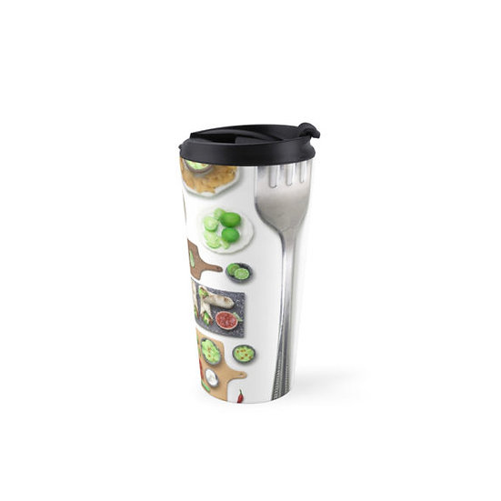 Miniature Mexican Food Travel Mug
