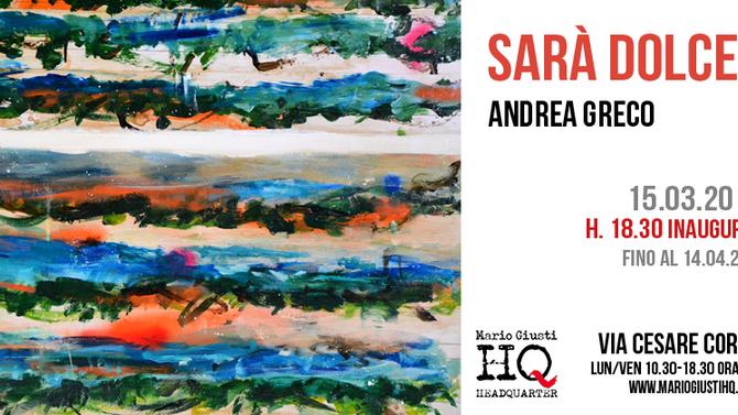 SARA' DOLCE TACERE - Andrea greco