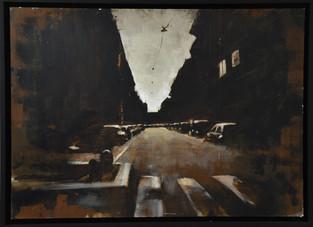 Oil on panel 50x70