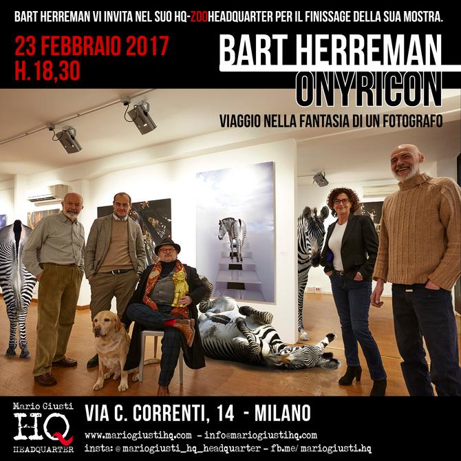 Finissage mostra Bart Herreman - Onyricon