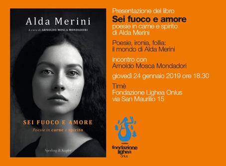 Circolo Culturale Timé: Sei fuoco e amore. Poesie in carne e spirito di Alda Merini