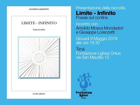 """Circolo Culturale Timé: Presentazione del libro """"Limite - Infinito"""" di G. Lorenzetti"""