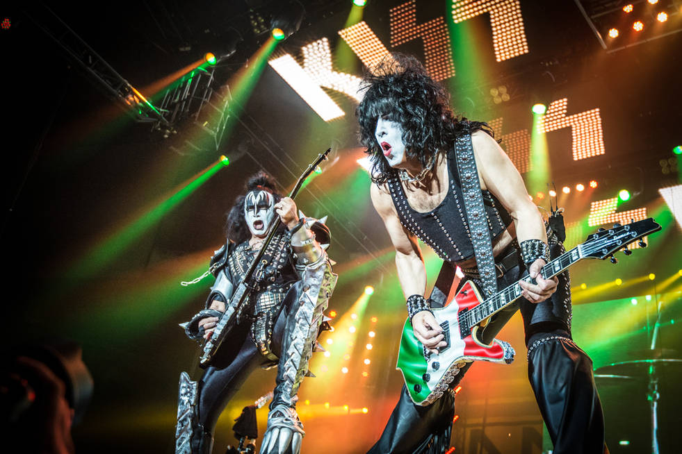 Kiss @ Unipol Arena