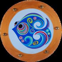 Oblo' 4.0 n.212,Acrilico su legno,40 cm, 2018
