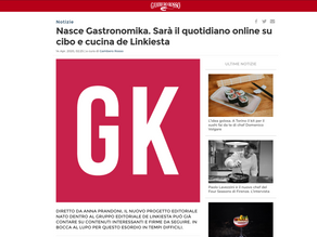 Nasce Gastronomika. Sarà il quotidiano online su cibo e cucina de Linkiesta