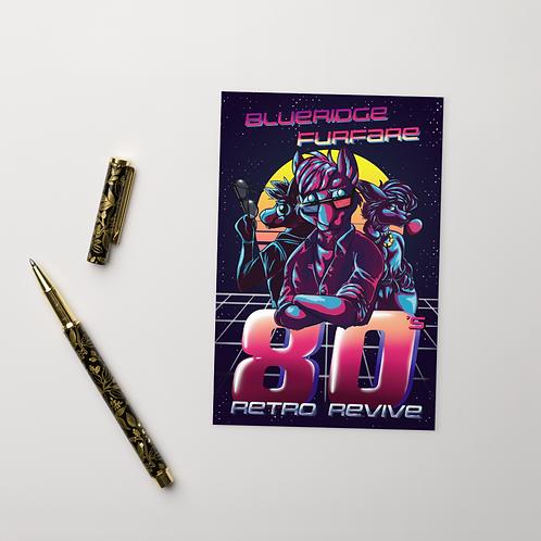 """Hackerman Postcard (4""""x6"""")"""