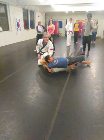 Why Not Us sponsors self-defense classes on campus