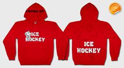 """""""ICE HOCKEY"""" kapucnis pulóver"""