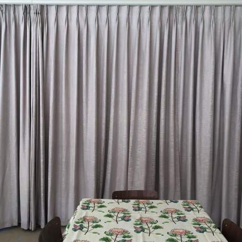 New drapes & Table cloths.JPG