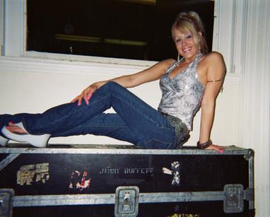 Lisa Bouchelle Backstage