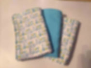 Stitched Simply Sweet Burp Cloths