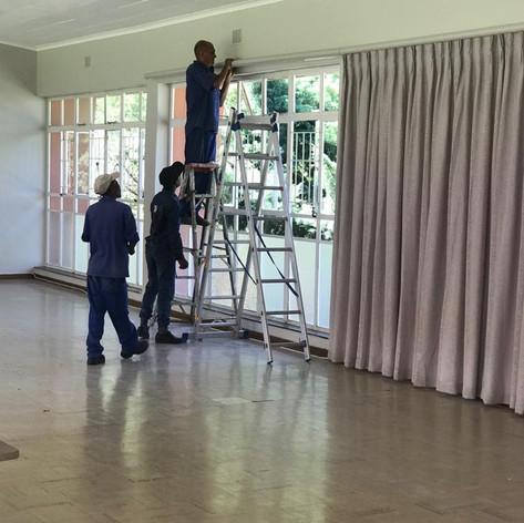 Drape installation.JPG