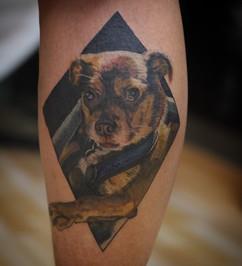Peter Walker Allegory Tattoo San Diego California