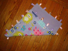 Stitched Simply Sweet Tag Blankets