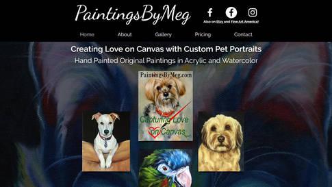 Paintings by Meg