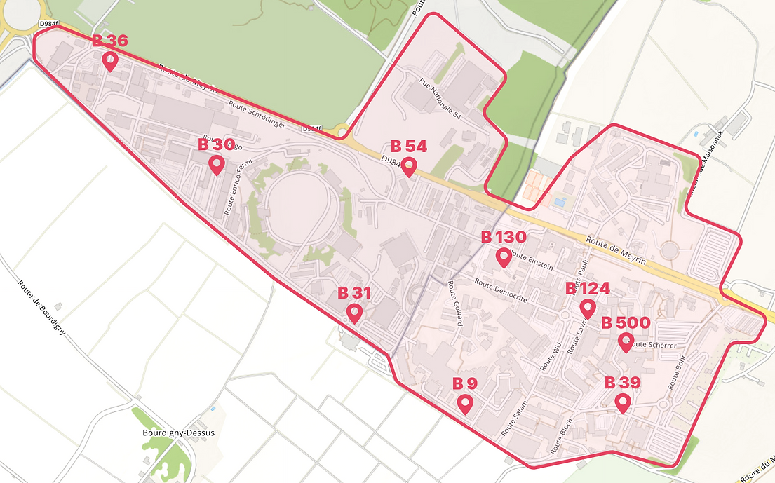 Meyrin campus locations.png