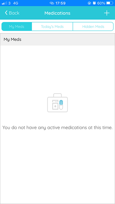 active medications screen