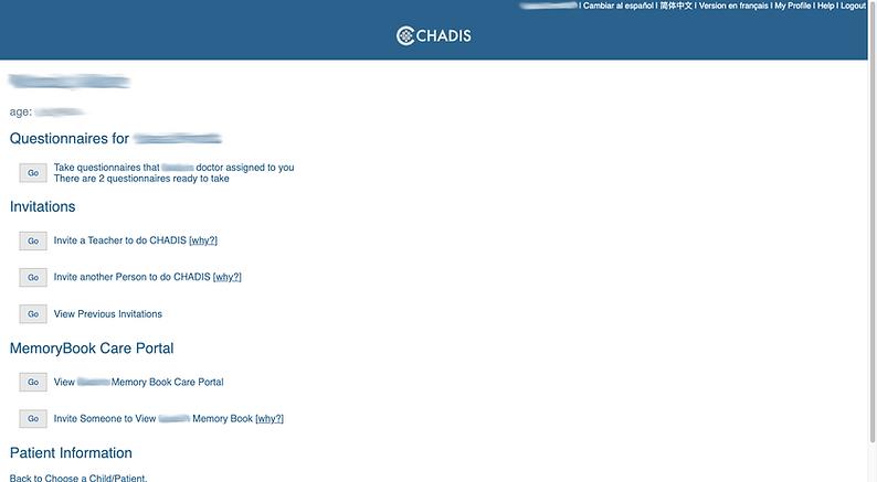 chadis website