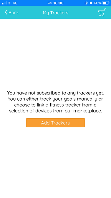 add tracker screen