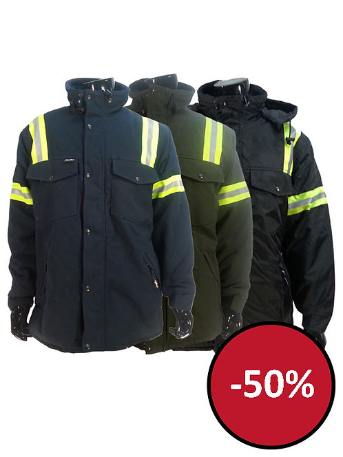 5907J - Manteau de coton