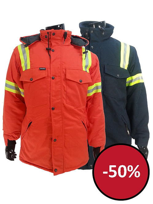 7957J - Manteau de polycoton grand froid