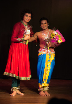 Les deux danseurs