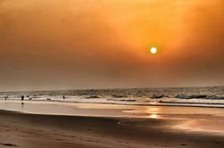 Lever du soleil à Konark