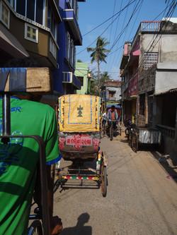 Promenade dans le vieux Puri