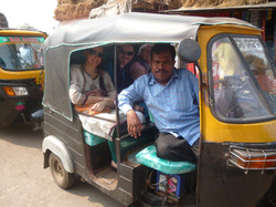 En rickshaw!