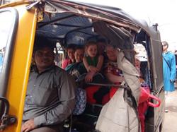 Virée en auto-rickshaw!