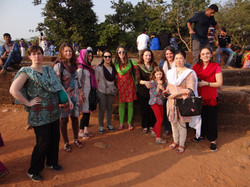Premier jour en Orissa!