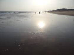 La plage de Konark