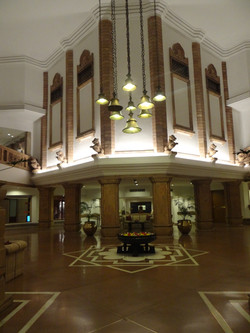 Dîner au grand hotel!