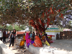 Femmes au temple