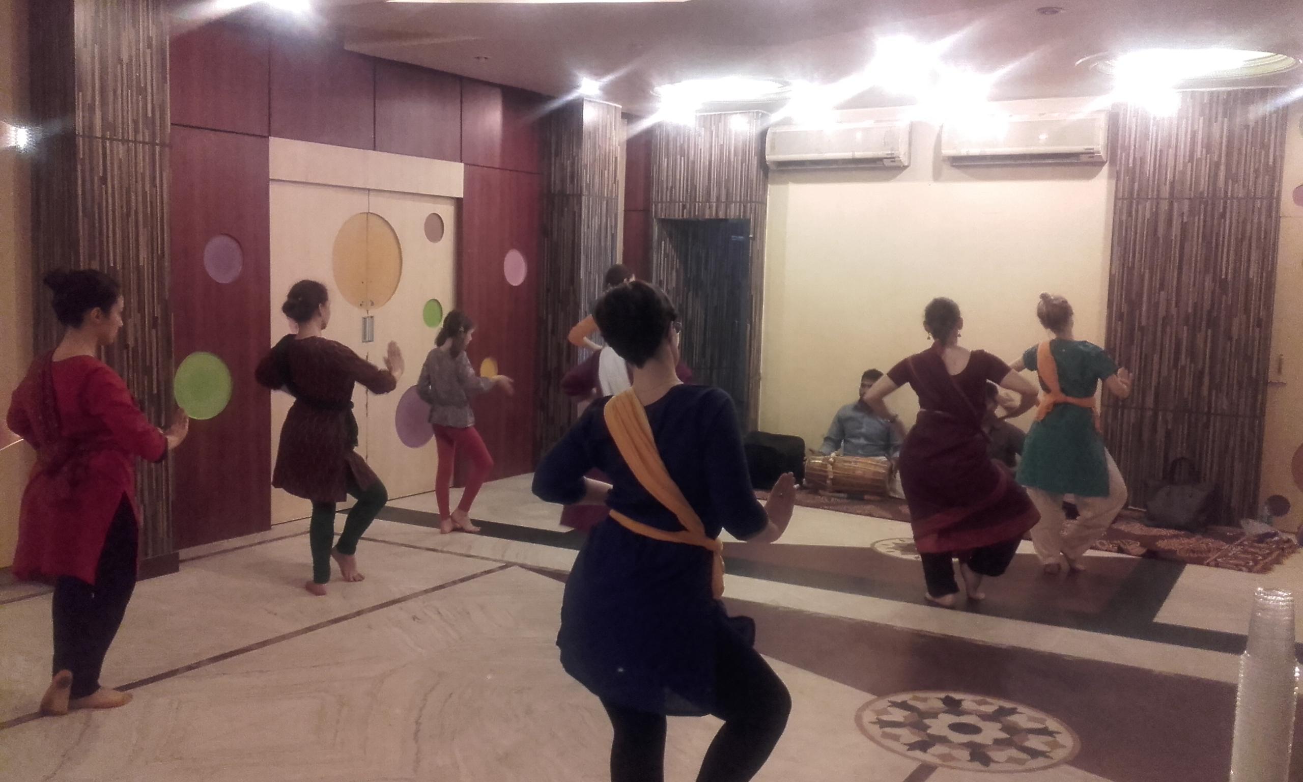 Cours de danse!