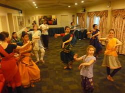 Suite des cours de danse