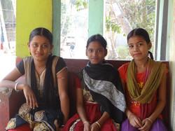 Adorables jeunes indiennes