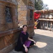Dans le temple des yoginis en Inde