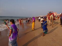 La plage de Puri