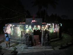 Le temple des 64 Yoginis de nuit