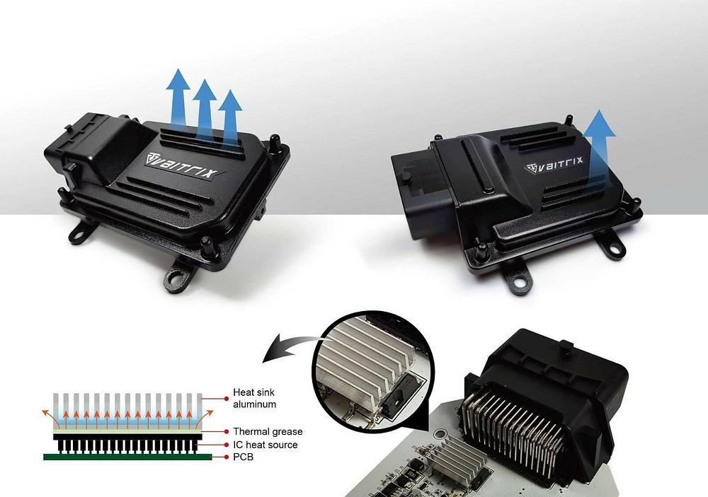 來自澳洲的汽車改裝品牌VAITRIX麥翠斯有最廣泛的車種適用產品,含汽油、柴油、油電混合車專用電子油門控制加速器,搭配外掛晶片及內寫,高品質且無後遺症之動力提升,也可由專屬藍芽App–AirForce GO切換一階、二階、三階ECU模式。外掛晶片及電子油門控制器不影響原車引擎保固,搭配不眩光儀錶,提升馬力同時監控愛車狀況。另有馬力提升專用水噴射可程式電腦及套件,改裝愛車不傷車。適用品牌車款: Audi奧迪、BMW寶馬、Porsche保時捷、Benz賓士、Honda本田、Toyota豐田、Mitsubishi三菱、Mazda馬自達、Nissan日產、Subaru速霸陸、VW福斯、Volvo富豪、Luxgen納智捷、Ford福特、Hyundai現代、Skoda、Mini; Altis、crv、chr、kicks、cla45、Focus mk4、 sienta 、camry、golf gti、polo、kuga、tiida、u7、rav4、odyssey、Santa Fe新土匪、C63s、Lancer Fortis、Elantra Sport、Auris、Mini R56、ST LINE...等。