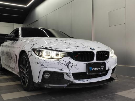 【BMW 440i 帥氣渣男x專業VAITRIX內寫】