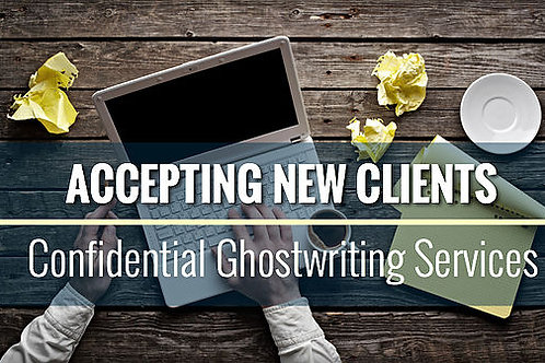 Ghostwriting Services Only