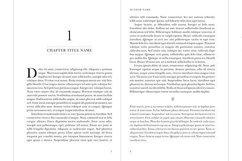Interior Book Formatting