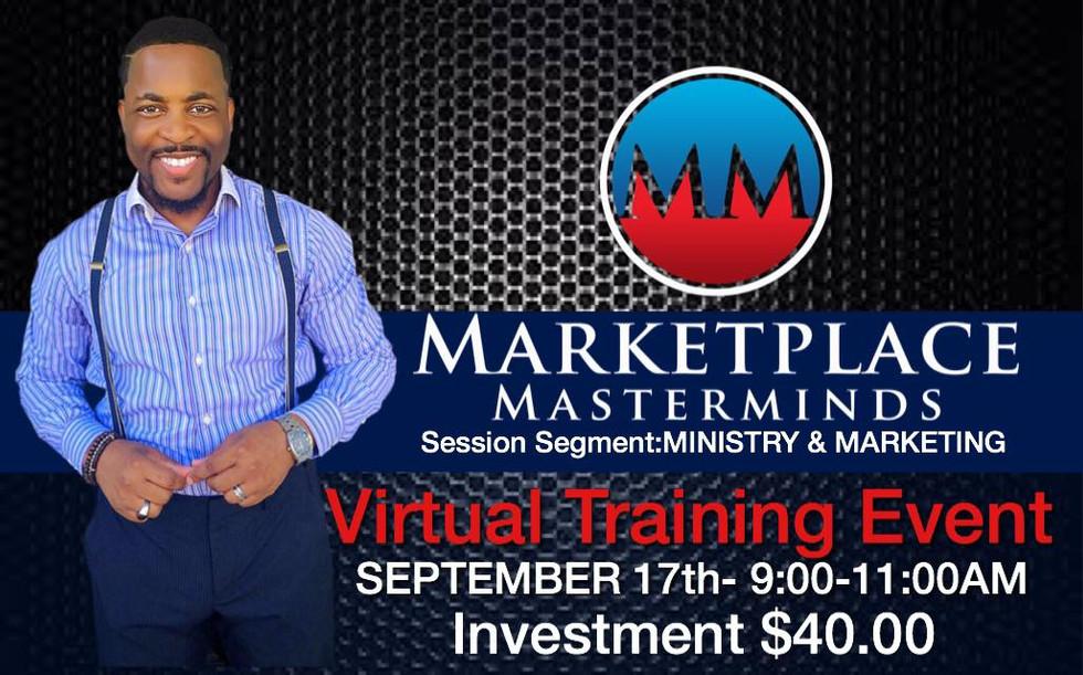 Ministry & Marketing Virtual Training Event