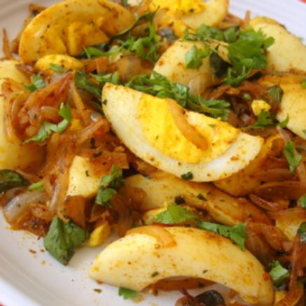 Boiled Egg Fry