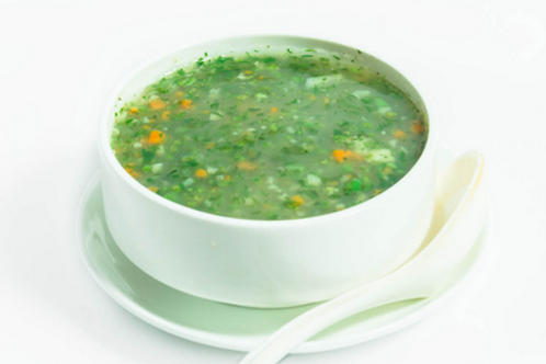 Veg Lemon Coriander Soup