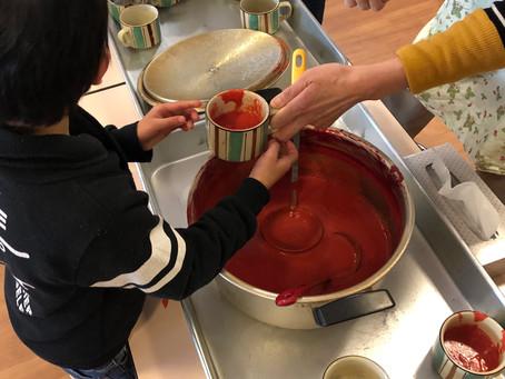 今月のスープの日:「赤いポタージュ」