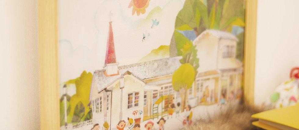愛児園の昔の絵.jpg