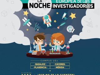 La Noche Europea de los Investigadores. Lo que no te puedes perder